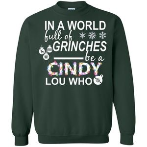 Grinch Theme Holiday / Christmas Sweater